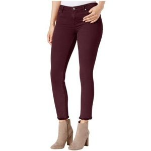 NWT Lucky Brand Lolita Frayed Hem Skinny Jeans